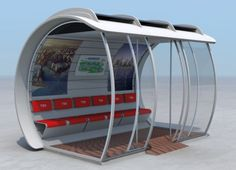 new design for a bus stop