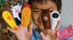 CRAFT: How to make Finger Puppets
