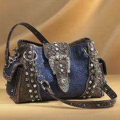 Western Studded Bag from Midnight Velvet® www.midnightvelvet.com  Confident Style. Beautiful You.