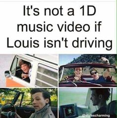 Looll even though Louis is the worst driver ever