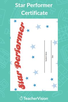 Reward your students for outstanding work. This printable is customizable. Tailor the PDF to your needs by typing in the highlighted fields before printing. Student Rewards, Birth Certificate Template, Award Certificates, Business Plan Template, Psychiatry, Free Training, Behavior Management, A Blessing, 5th Grades