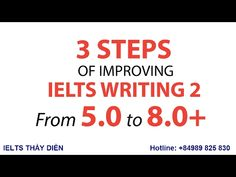 IELTS writing task 2  from band 5 to band 8+ Part 1