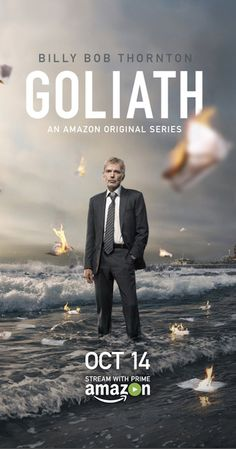 Find more tv shows like Goliath to watch, Latest Goliath Trailer, A disgraced lawyer, now an ambulance chaser, gets a case that could bring him redemption or at least revenge on the firm which expelled him. Tv Series 2016, Drama Tv Series, Tv Series To Watch, Series Movies, See Movie, Movie Tv, Tania Raymonde, Big Bang Theory, Movies Showing