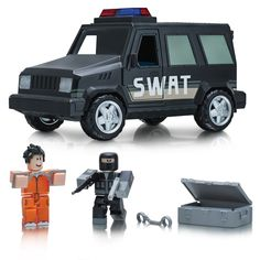 Buy Roblox Jailbreak SWAT Unit - Deluxe Vehicle at Argos. Thousands of products for same day delivery or fast store collection. Toys Uk, Kids Toys, Mystery, Prison Life, Play Roblox, Series 4, Swat, Cool Toys, Cool Things To Buy