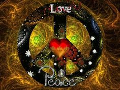 Love & Peace on Earth Hippie Peace, Happy Hippie, Hippie Love, Hippie Art, Hippie Chick, Hippie Things, Peace On Earth, World Peace, Peace Of Mind