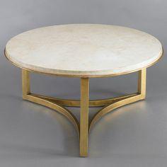 DwellStudio MILO COFFEE TABLE - TRAVERTINE