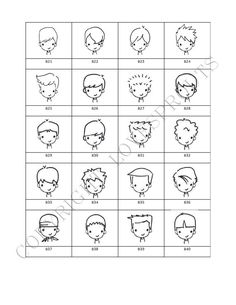 BOYS Personalized Mug Shot Signature Stamp by lovesprouts on Etsy