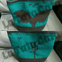 El Tejado de La Tata Gata: Que os parece esta ballena surcando este bolso? Cr...