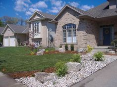 Get Front Yard Landscaping Ideas Would a stone walkway look good in the front of the house? Description from smallbackyardlandscapingideas.com. I searched for this on bing.com/images