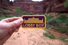 Lobby boy patch <3 -