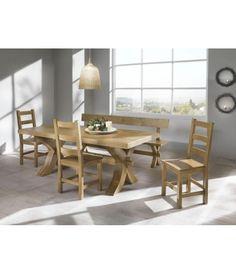 Conarte Cevennes X-Leg Dining Table