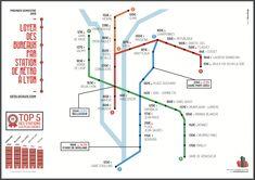 loyer bureaux Lyon par station de métro Lyon, Line Chart, Infographic, Real Estate