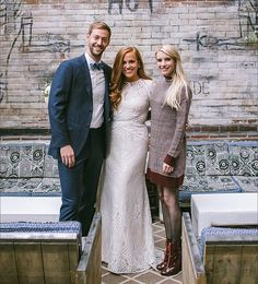 #TBT to the time the lovely @emmaroberts made this couple's wedding day at the @ludlowhotelny! Our #realbride in Beilin. Photo by @brianamoore.  #Watters #weddingdress #weddinginspiration #nycbride #emmaroberts #weddingday by watterswtoo #instagram #liked
