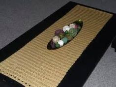 Modern Crochet Table Runner - Yahoo Image Search Results