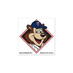 """MINNESOTA TWINS OFFICIAL 1""""X1"""" MLB TEMPORARY TATTOO by MLB. $4.94. Top Quality, Manufactured by Wincraft. Officially licensed by the Minnesota Twins. Officially licensed by the MLB. You get FOUR cool temporary tattoos in this set. Each measures 1"""" by 1"""". Perfect for the arms, face, or chest. Easy to apply. Takes only about 30 seconds. Easy to remove using rubbing alcohol or baby oil. Vibrant colors and crisp graphics. Official team logos and colors. Officially licensed by th..."""