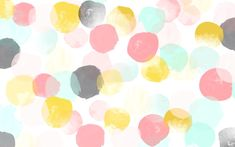 65 Ideas Macbook Wallpaper Desktop Wallpapers Kate Spade Polka Dots For 2019 Watercolor Desktop Wallpaper, Macbook Wallpaper, Wallpaper Pc, Trendy Wallpaper, Computer Wallpaper, Cute Wallpapers, Desktop Wallpapers, Desktop Bg, Macbook Desktop