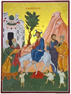 Sunday Sermons, Palm Sunday, Temple, Icons, Painting, Art, Art Background, Temples, Symbols