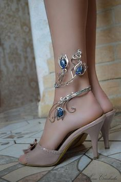 #Handmade #anklet #anklet bangle #body jewelry #ankle jewelry #silver jewellry #copper jevelry