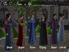 Click to see full size image Types Of Lace, Tartan Kilt, Model One, Renaissance Fashion, My Sims, Everyday Dresses, The Body Shop, Middle Ages, Simple Style