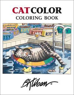 Kliban CatColor Coloring Book
