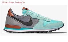Nike Internationalist Leather Damen Run Schuhe Grass Grün Grau Braun NN4658