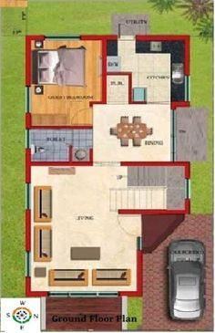 duplex floor plans indian duplex house design duplex house map - Home Design And Plans