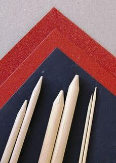 How to make your own knitting needles ~Tutorial