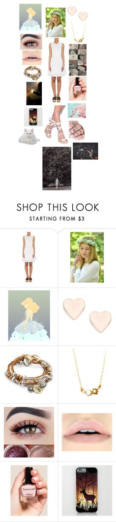 """""""The supernatural - Light Witch"""" by rosemarieyoung ❤ liked on Polyvore featuring beauty, Derek Lam, Ted Baker, Lizzy James, La Kaiser and Francesca's"""