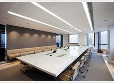 conference room with bench seating  Shaw Contract Group | Design Award 2013