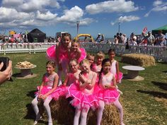 Look at these beauties wearing our Honey B's tutus! #tutus #tutu #pinktutu #group #groupphoto #cute #adorable #honeybs #colours colourful
