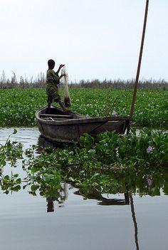 Fishing in Benin