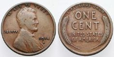 You Have a Valuable Lincoln Wheat Penny? Is Your Wheat Penny a Key Date?: This Wheat Ears Penny is a key date cent in average circulated condition.Is Your Wheat Penny a Key Date?: This Wheat Ears Penny is a key date cent in average circulated condition. Valuable Pennies, Rare Pennies, Valuable Coins, Penny Values, Wheat Pennies, Lincoln, Rare Coins Worth Money, American Coins, Coin Worth