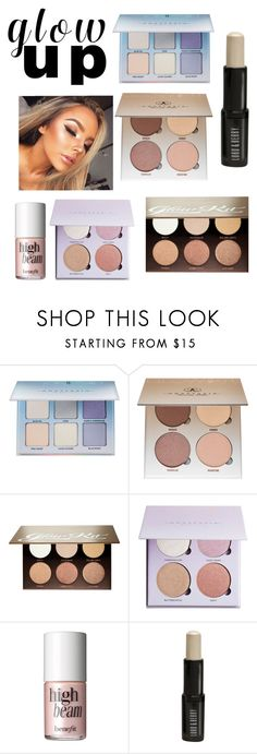 """""""Beauty Trend: Highlighter"""" by laughlikecrazy on Polyvore featuring beauty, Anastasia Beverly Hills, Benefit and Lord & Berry"""