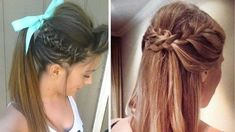 Quick & Heatless EveryDay Hairstyles ★ Simple and Easy beautiful hairsty...