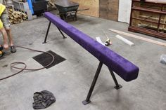 Recently we tackled the construction of a DIY Balance Beam for my daughter's 9th birthday.Purple, no less :)Following is a detailed step-by-step guide as to how we went about building it. **…