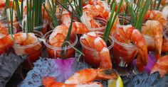 I love cocktail shrimp and everyone has it at parties and weddings...so here's a new way to serve it that will look amazing and control how...