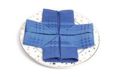 Snowflake Napkin Fold TUTORIAL