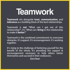 From acquaintances to best friends to married couples, all great friendships involve teamwork. Teamwork sits alongside trust, communication, and tolerance … Relationship Comic, Relationship Videos, Complicated Relationship, Workplace Quotes, Workplace Motivation, Communication Quotes, Team Building Quotes, Building Relationships Quotes, Work Relationships