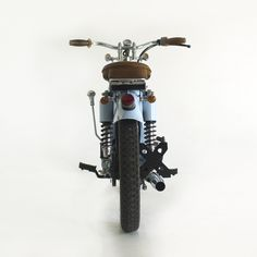 Honda C70 with suicide shifter