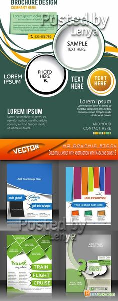 Brochures And Cards Design Flayers Pinterest Change - Web template torrent
