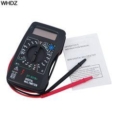 Multimetro digitale DT 830B LCD voltmetro amperometro Metro Ohm Volt AC DC tester misuratore strumento