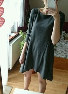 Kup mój przedmiot na #vintedpl http://www.vinted.pl/damska-odziez/krotkie-sukienki/13477706-swietna-szara-sukienka-musthave-reserved
