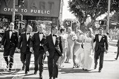Brianna & Charlie, Los Angeles Athletic Club, Los Angeles Wedding Photographer www.BandGphotography.com