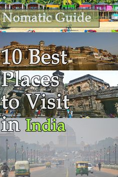 10 Best Places to Visit in India - NomaticTravel Best Countries To Visit, Cool Countries, Cool Places To Visit, Bay Of Bengal, Arabian Sea, Different Countries, India India, India Travel, Amazing Destinations