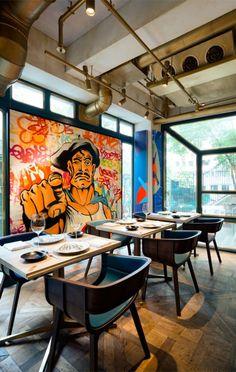 Bibo Restaurant / Substance | AA13 – blog – Inspiration – Design – Architecture – Photographie – Art