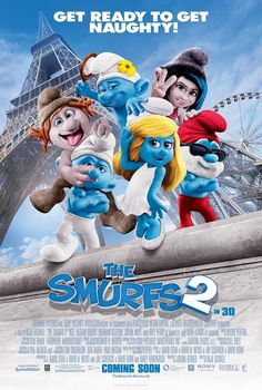 The Smurfs 2 - Poster get ready to get naughty!