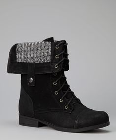 Black Freda Boot | Daily deals for moms, babies and kids