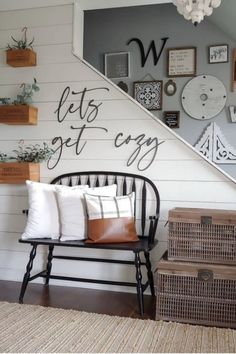 Find beautiful entryway ideas to get inspired including the best entryway furniture, storage ideas, entryways with benches, how to style your entry table plus, cute signs and décor. #entryway Entryway Furniture, Entryway Decor, Entryway Ideas, Furniture Storage, Small Room Bedroom, Home Decor Inspiration, Living Room Decor, Decorating Ideas, Decor Ideas