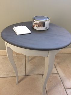 Patine de table: étape 4 – Week-end chez Co Old Furniture, Upcycled Furniture, Outdoor Furniture, Outdoor Decor, Dinning Room Tables, Shabby Chic, Week End, Inspiration, Design