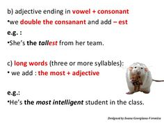 adjectives ending in vowel - Buscar con Google